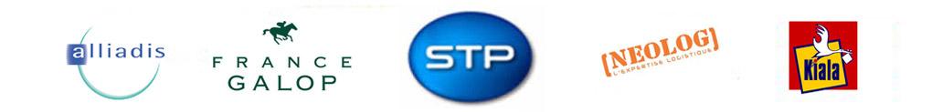 STP (filiale de La Poste), France Galop, Neolog, Kiala ou encore Alliadis et bien d'autres.